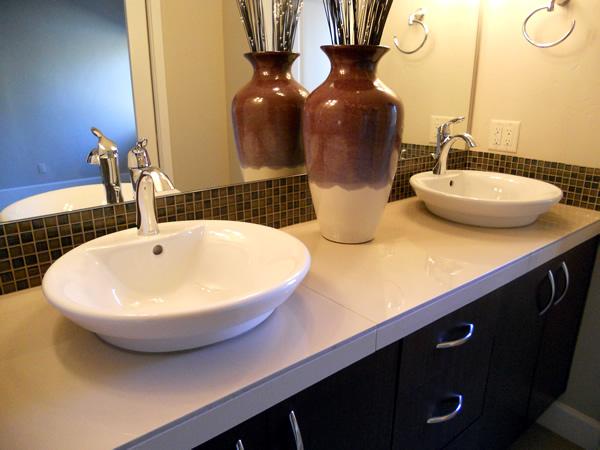 Parazoo Plumbing Custom Bathroom Sink and Vanity